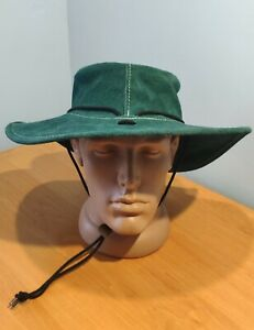 BARMAH THE ORIGINAL BUSH HAT DESERT OAK CLOTHING size M GENUINE LEATHER