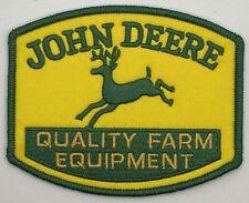 John Deere Tractors Farm Machinery Equipment Vintage Style Retro Patch Hat Cap