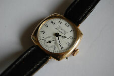 "Vintage Rolled Gold ""SERVICES AIR WRIST"" Cushion Watch"