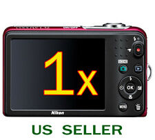 1x Nikon COOLPIX L32 L30 Digital Camera Clear LCD Screen Protector Guard Shield