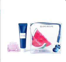 BRAND NEW TRAVEL SIZE GLOW RECIPE WATERMELON SLEEPING MASK+BLUEBERRY CLEANSER