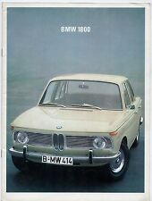 BMW 1800 Saloon 1966-68 UK Market Sales Brochure