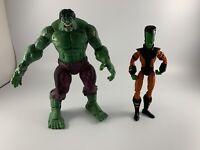 HULK vs LEADER long head variant | Marvel Legends Face-Off | toybiz Figure Used