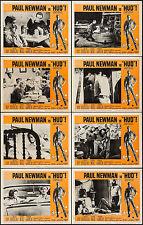 "Poster (8) Lobby Cards 1963 11""x14"" VF+ 8.5 Paul Newman"