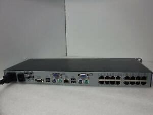 HP AF617A 513736-001, 16-Port KVM Server Console Switch_