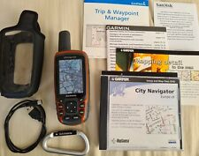 Garmin GPSMAP 62st Handheld Outdoor GPS with discoverer and city navigator maps