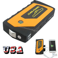 Portable Car Jump Starter Pack Booster Charger Battery Power Bank 69800mAh 4USB