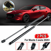 2pc Bonnet Hood Gas Strut Damper Kit Rear For Mazda 3 Axela 2020+ On-No