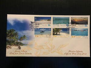 Pitcairn Islands 2005, FDC, Scenic Views, Excellent Condition