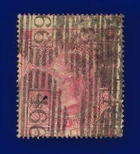 1867 SG126 5s Rose Plate 1 J121(1) HI Liverpool Good Used Cat £675 crjo