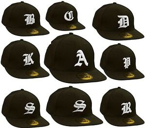 Men Women Casual Baseball Hat American Twill Cap Snap Back Gothic 3D Letter LA