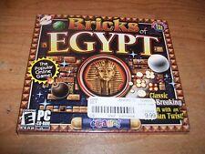(4) Bricks of Egypt + Drop + Twistingo CD ROM Windows 95/XP/2000/ME Games NEW
