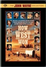 HOW THE WEST WAS WON New Sealed DVD John Wayne Collection