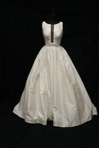Justin Alexander 99091 Bridal Wedding Gown Dress sz 14