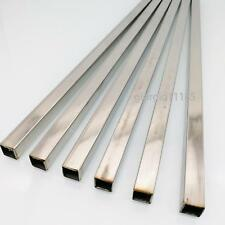 Us Stock 6pcs 10mm X 10mm 12 Long 05mm Wall 304 Stainless Steel Square Tube