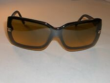 CHANEL ITALY 5065 c.501/18 120 PRESCRIPTION Rx LENS BLACK WRAP FRAMES ONLY READ!