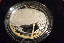 Canada 2011 Toronto Map 2oz  argento Proof $25 placcata oro