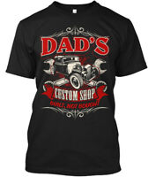 Dads Custom Shop Hot Rods - Dad's Built, Not Enough Hanes Tagless Tee T-Shirt