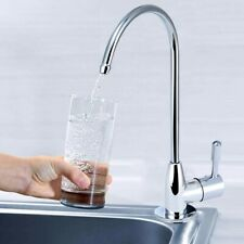 ABS Plastic Plating Kitchen Faucet Tap Drinking Water Filter Purifier 1/4''