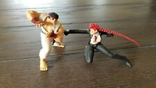 "Action Figure Anime Street Fighter IV Ryu and Viper 3"" Capcom Neca 2008"