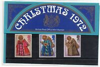 GB 1972 Christmas Presentation Pack VGC. Stamps. Free postage!!