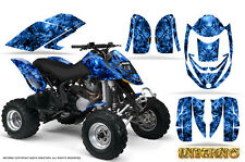 CAN-AM DS650 DS650X CREATORX GRAPHICS KIT DECALS INFERNO BLUE