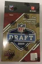 2009 Upper Deck Draft Picks Football Hobby Box Factory sealed