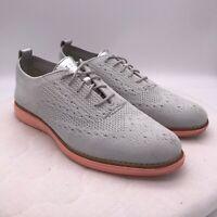 Cole Haan Women's Original Grand Wingtip Oxford Stitchlite Shoes Size 8.5 B Gray