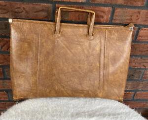 Vintage Attache Briefcase American Luggage Works 1975 Escort Bag Handles VTG