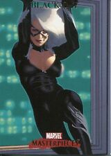 Marvel Masterpieces 2007 Base Card #9 Black Cat