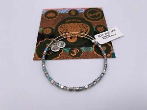 Alex and Ani Wisdom Bangle River (Rafaelian Silver) Bracelet
