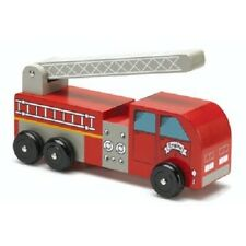 New Big Fire Engine, Wooden Toy Truck, preschool age 3+