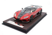 #F041-41 - FrontiArt Koenigsegg Agera HH - Transpared Red - 1:18