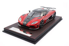 #f041-41 - frontiart Koenigsegg Agera HH-transpared Red - 1:18