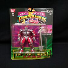 Mighty Morphin Power Rangers Evil Space Aliens Series II Evil Light Lord Zedd