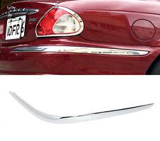 Idfr Jaguar X Type X-Type 2001~2008 Chrome bumper inserts , Rear Right