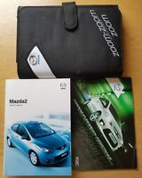 GENUINE MAZDA 2 HANDBOOK OWNERS MANUAL WALLET 2007-2010 PACK E-281