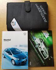 GENUINE MAZDA 2 HANDBOOK OWNERS MANUAL WALLET 2007-2010 PACK E-281