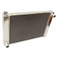 "2 Row Universal Fabricated Aluminum Racing Radiator For Ford Mopar 24"" x19"" x3"""