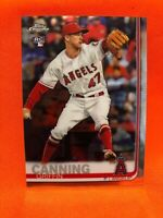 2019 Topps Chrome Update GRIFFIN CANNING Rookie Angels RC