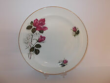 VINTAGE James Kent Old Foley Ltd China Piatto Per Torta Design Rose Rosa