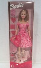 Barbie Valentine Wishes Doll 2001 #50879 Special Edition