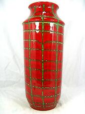 Beautiful glazed 70´s design Schlossberg  Keramik pottery vase 19 - 45