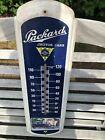 Vintage Original Packard Motor Cars Thermometer Metal Sign Advertisement Works