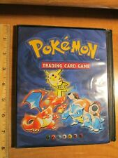 Pokemon CHARIZARD+BLASTOISE+PIKACHU BINDER Card Collector's Album Ultra Pro Set