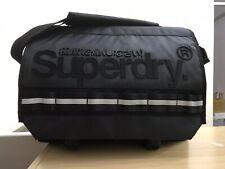 Superdry Line Merchant Messenger Bag - Black BNWT
