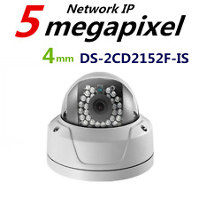 Hikvision Original English Version DS-2CD2152F-IS 5MP IR Fixed Dome IP Camera