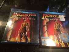 Indiana Jones and the Temple of Doom Blu-ray Disc digital Slip Cover New Sealed