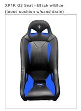 Pro Armor RZR XP 1000/2015 900's G2 Seat w/sand drain- Black/Blue  # P141780BU