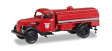 HERPA MINITANKS H0 - 745352 - FORD G 997 T TANK TRUCKS FIREFIGHTERS KONIGSBERG